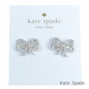 Kate Spade bow pave earrings💜💜💜💜
